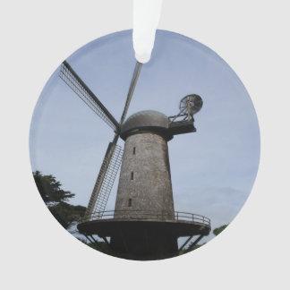 Ornamento holandês do moinho de vento de San