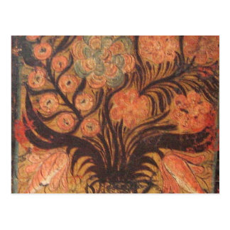 Ornamento húngaros da caixa cartão postal