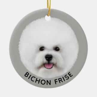 Ornamento ilustrado Frise de Bichon