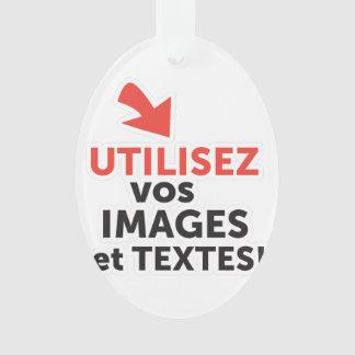 Ornamento Imprimir as vossas concepções em linha em francês