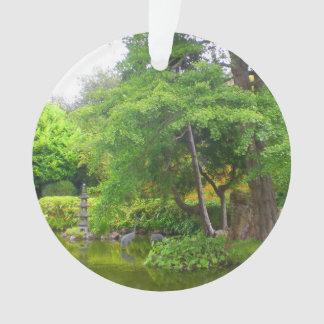 Ornamento japonês da lagoa #4 do jardim de chá de