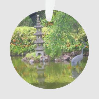 Ornamento japonês da lagoa #5 do jardim de chá de
