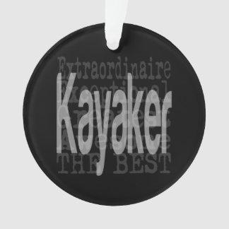 Ornamento Kayaker Extraordinaire