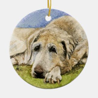 Ornamento /Labrador da relembrança do cão