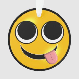 Ornamento Língua para fora Emoji