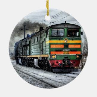 Ornamento locomotivo do trem 2T3109-0384