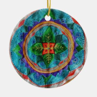 Ornamento mágico do círculo da mandala
