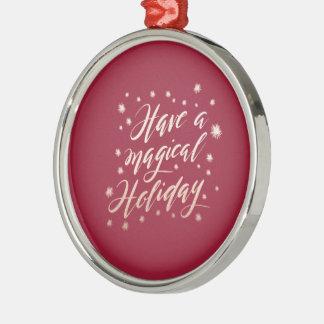 ornamento mágico do feriado do feriado
