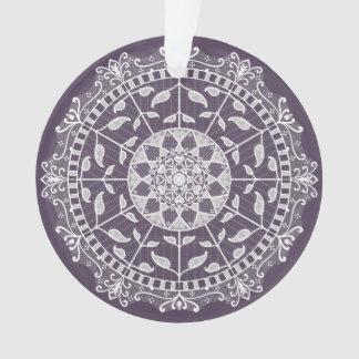 Ornamento Mandala da ameixa