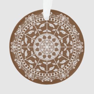 Ornamento Mandala da bolota