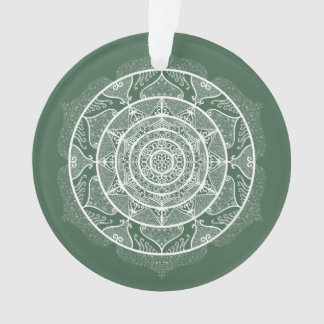 Ornamento Mandala da floresta