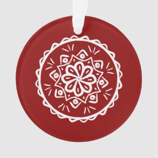 Ornamento Mandala da framboesa