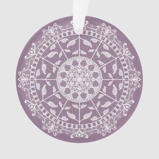 Ornamento Mandala das glicínias