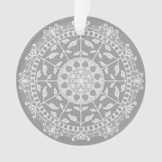 Ornamento Mandala de pedra