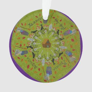Ornamento Mandala de Yaga do babá