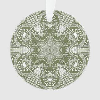 Ornamento Mandala do musgo