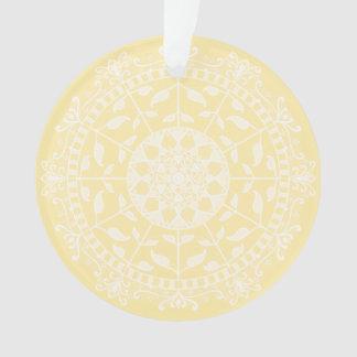 Ornamento Mandala do pergaminho