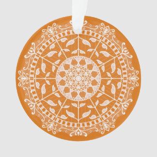 Ornamento Mandala do tarte de abóbora