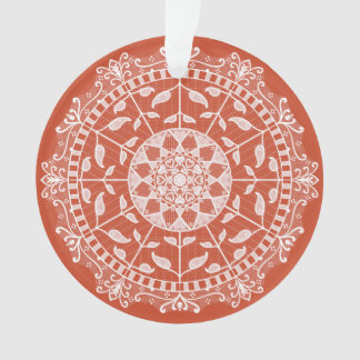 Ornamento Mandala do Terracotta