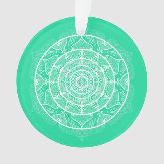 Ornamento Mandala Minty