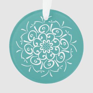 Ornamento Mandala Spruce azul