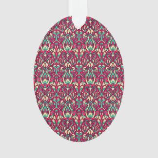 Ornamento Mão abstrata teste padrão colorido tirado