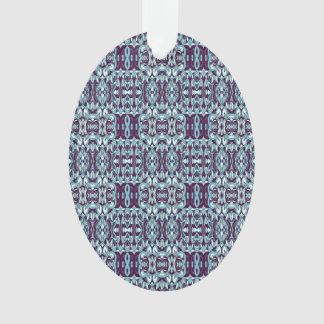 Ornamento Mão abstrata teste padrão tirado. Cor azul