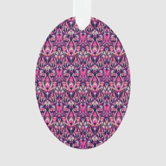 Ornamento Mão abstrata teste padrão tirado. Cores roxas