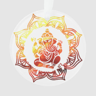 Ornamento Meditação colorida