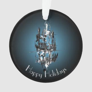 Ornamento Mensagem ausente do feriado da vela