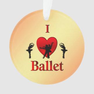 Ornamento Mim Natal do balé do coração