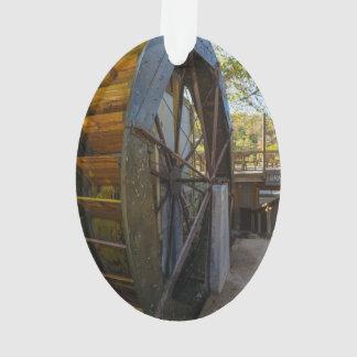 Ornamento Moinho de Dawt da roda de água