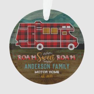 Ornamento Motorhome rv Campista Viagem Van Rústico