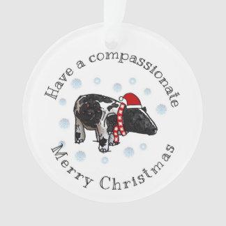 Ornamento Natal compassivo