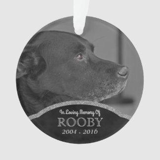 Ornamento Natal conhecido personalizado do animal de