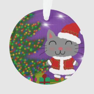 Ornamento Natal de Meowy
