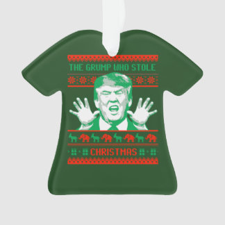 Ornamento Natal do trunfo - Grump que roubou o Natal --