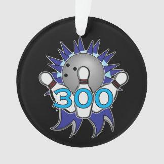 Ornamento Nome de rolamento e equipe de 300 contagens