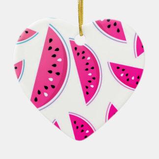 Ornamento novo do xmas com melão