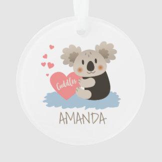 Ornamento O Koala bonito afaga ID386