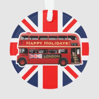 Ornamento O ônibus vermelho famoso de Londres