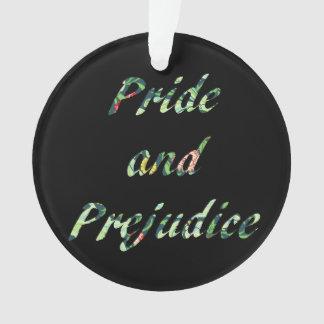 Ornamento Orgulho e preconceito e persuasão frente e verso