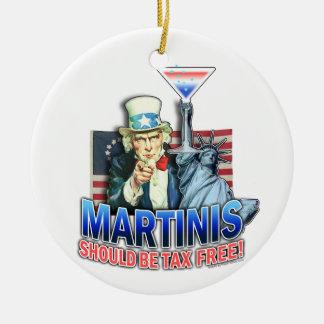 Ornamento - os Martinis devem ser isentos de