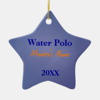 Ornamento ou prêmios da equipe de esportes do azul