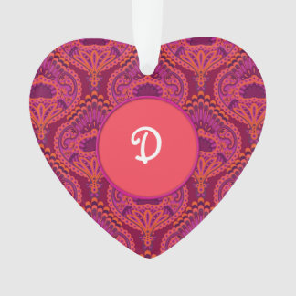 Ornamento Paisley emplumado - Pinkoinko