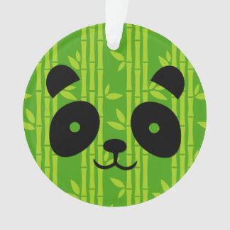 Ornamento panda_bamboo