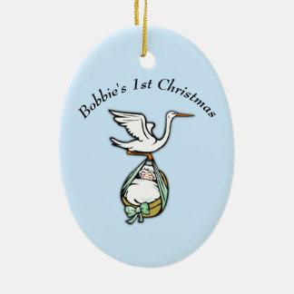 Ornamento para Natal dos bebês o ø