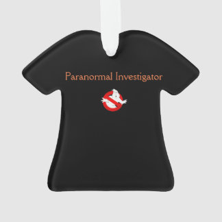 Ornamento Paranormal do t-shirt