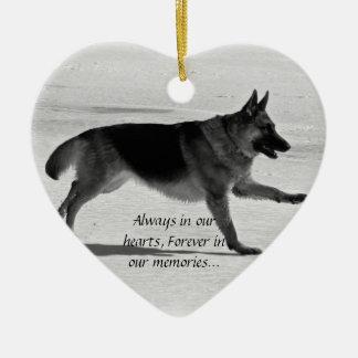 Ornamento perdido do animal de estimação