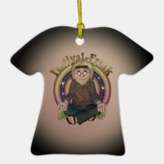 Ornamento personalizado anormal do t-shirt do fest